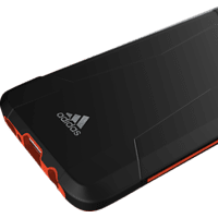 ADIDAS SPORT Solo Case  , Backcover, Samsung, Galaxy S8, 50% Thermoplastisches Polyurethan, 50% Polycarbonat, Schwarz/Rot