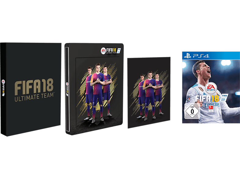 FIFA 18 Steelbook Edition [PS4]