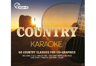 VARIOUS - Country Karaoke - (CD)