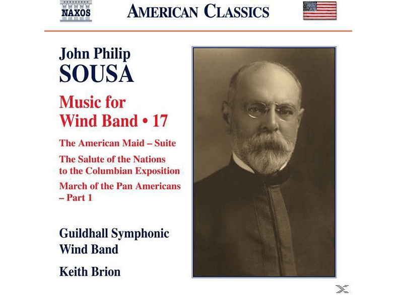 Keith Brion, Guildhall Symphonic Wind Band - Music for Wind Band Vol.17 [CD]