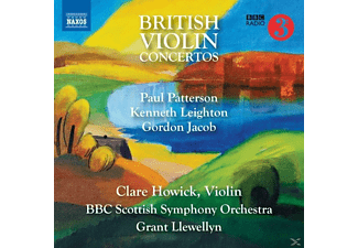 Grant Llewellyn, Clare Howick, Bbc Scottish Symphony Orchestra - Britische Violinkonzerte - (CD)