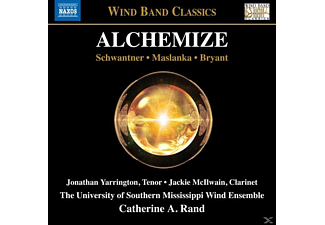 Catherine A. Rand, University Of Southern Mississippi Wind Ensemble - Alchemize - (CD)