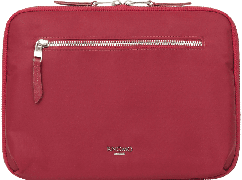 KNOMO  Mayfair Knomad Zip Around Folio Tablethülle, Sleeve, 10 Zoll, Rot | 05055385424823