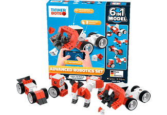 KINEMATICS Tinkerbots Robotics Advanced Set Baukastensystem, Mehrfarbig