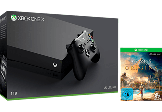 MICROSOFT Xbox One X 1TB inkl. Assassin's Creed Origins (Exklusiv)