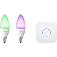 Philips Hue E14 White and Color Ambiance Starter-Set