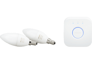 PHILIPS Hue White and Color Ambiance E14 6.5W Starter-Kit