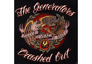 The Generators, Crashed Out - Split - (Vinyl)