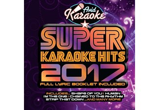 VARIOUS - Super Karaoke Hits 2017 - (CD)