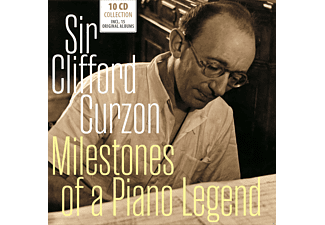 Sir Clifford Curzon - Milestones of a Piano Legend - (CD)