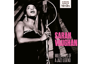 Sarah Vaughan - Milestones of a Jazz Legend - (CD)