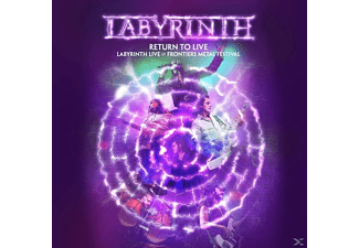 Labyrinth - Return To Live (Deluxe Edition) - (CD + DVD Video)