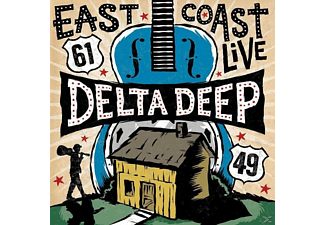 Delta Deep - East Coast Live - (CD + DVD Video)