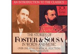 Robinson, Hannes, Diesenroth - Foster,Sousa: Story in Words & Music - (CD)