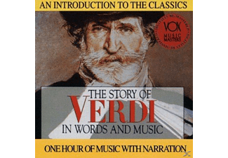 Hannes/Radev/Zagreb Orch. - Verdi: Story in Words & Music - (CD)