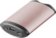 XLAYER PLUS Powerbank 5200 mAh Rosé Gold