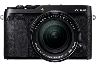 FUJI FILM X-E3 + XF 18-55 mm fekete Kit