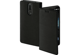 Slim Bookcover Huawei Mate 10 lite High-Tech-PU Schwarz