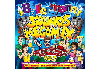 VARIOUS - Ballermann Sounds Megamix-The Bes - (CD)