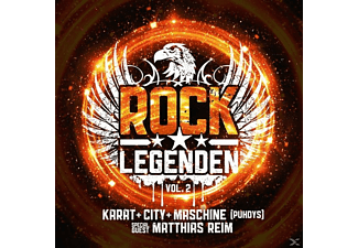 Karrat, City, Maschine, VARIOUS - Rock Legenden Vol.2 (Ltd.Edt.) [Vinyl]