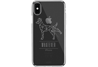 ARTWIZZ NoCase P-Dog iPhone X Handyhülle, Transparente mit Polygon Motiv