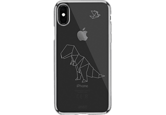ARTWIZZ NoCase T-Rex Handyhülle, Transparente mit Polygon Motiv, passend für Apple iPhone X