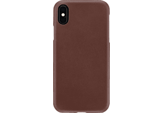 ARTWIZZ Leather Clip Handyhülle, Braun, passend für Apple iPhone X