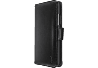 ARTWIZZ SeeJacket® Leather iPhone X Handyhülle, Schwarz