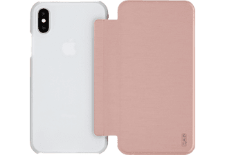 ARTWIZZ SmartJacket® Handyhülle, Rosegold, passend für Apple iPhone X