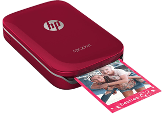 HP Sprocket Photo Printer - Röd