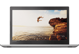 LENOVO IdeaPad 520, Notebook mit 15.6 Zoll Display, Core™ i7 Prozessor, 8 GB RAM, 1 TB HDD, 128 GB SSD, GeForce® 940MX, Iron Grey