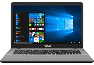 ASUS R702UV-BX222T, Notebook mit 17.3 Zoll Display, Core™ i5 Prozessor, 8 GB RAM, 1 TB HDD, NVIDIA® GeForce® 920MX, Star Grey