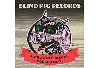 VARIOUS - Blind Pig Records: 40th Anniversary Collection - (CD)