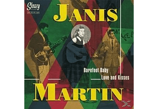 Janis Martin - barefoot baby / love and kisses - (Vinyl)