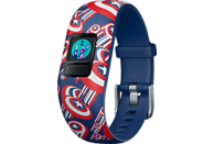 GARMIN VIVOFIT JR 2 MARVEL AVENGERS, Fitness Tracker, 130-175 mm, Blau/Bunt
