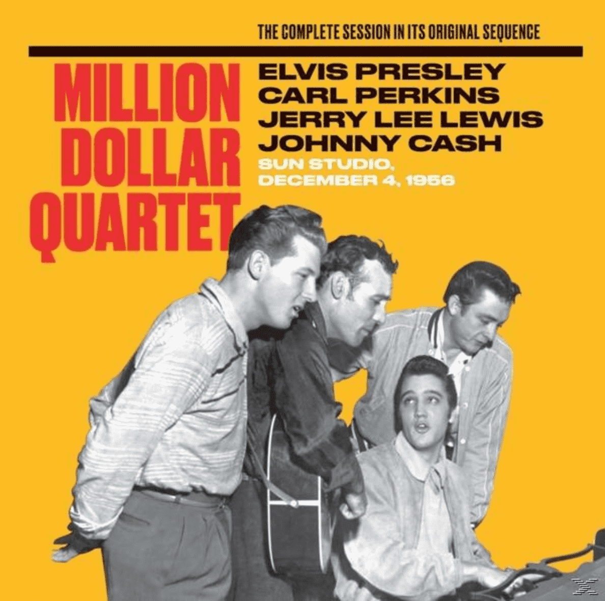 Elvis/carl Perkins/jerry L Presley - The Million Dollar Quartet-The Complete Session - (CD)