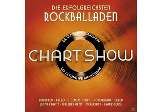 VARIOUS - Die Ultimative Chartshow-Rockballaden - (CD)