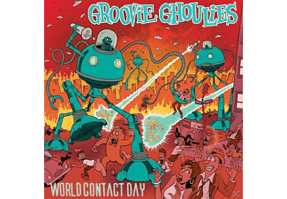 The Groovie Ghoulies - World Contact Day - (CD)