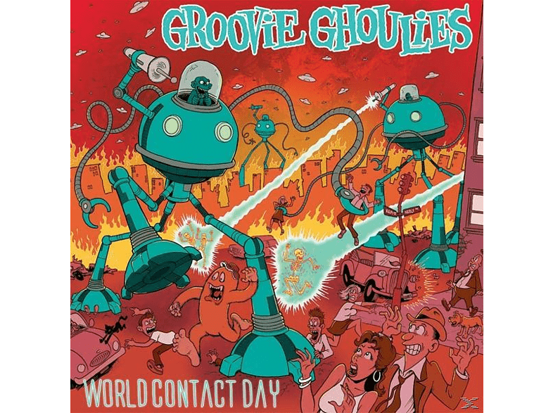 Groovie Ghoulies - World Contact Day [CD]