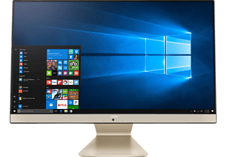 ASUS V241ICGT-BA011T, All-in-One PC mit 23.8 Zoll Display, Core™ i5 Prozessor, 8 GB RAM, 1 TB HDD, GeForce® 930MX, Schwarz/Gold