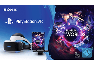 SONY PlayStation VR + Camera + VR Worlds Voucher, Virtual Reality Brille
