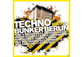 VARIOUS - Techno Bunker Berlin Vol.1 - (CD)
