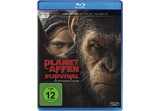 Planet der Affen: Survival - (3D Blu-ray (+2D))