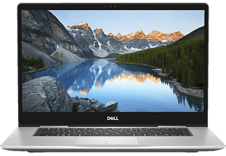 DELL INSPIRON 15-7570, Notebook mit 15.6 Zoll Display, Core™ i7 Prozessor, 8 GB RAM, 512 GB SSD, GeForce 940 MX, Silber