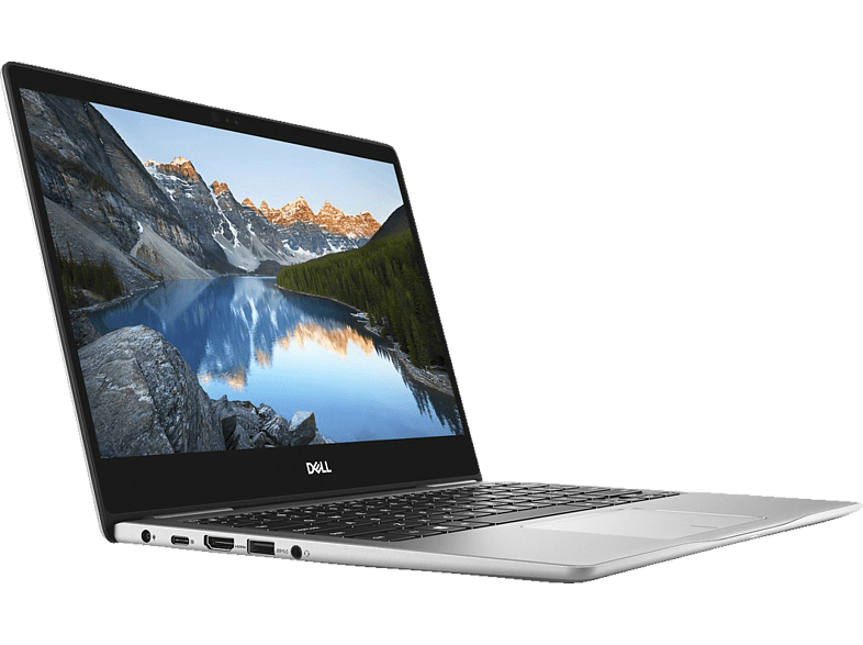 DELL INSPIRON 13-7370, Notebook mit 13.3 Zoll Display, Core™ i7 Prozessor, 16 GB RAM, 512 GB SSD, Intel® HD Graphics, Platinum Silver