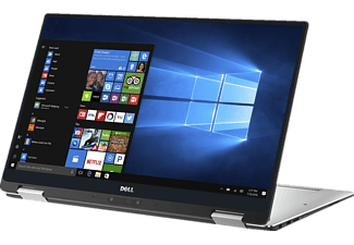 DELL XPS 13-9365, Convertible mit 13.3 Zoll Display, Core™ i5 Prozessor, 8 GB RAM, 256 GB SSD, HD Grafik 615, Silver