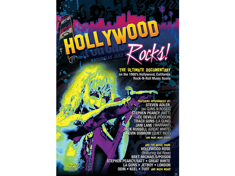 VARIOUS - HOLLYWOOD ROCKS! [DVD]