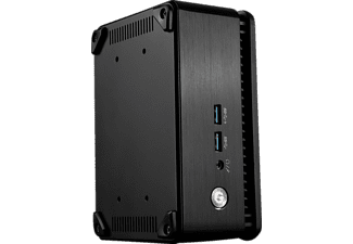 MSI Cubi 3 Silent, Gaming PC mit Core™ i3 Prozessor, 0 GB, HD Graphics 620