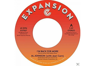 Al Johnson - I'M BACK FOR MORE/I'VE GOT MY SECOND WIND - (Vinyl)