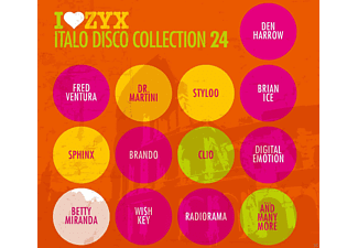 VARIOUS - ZYX Italo Disco Collection 24 [CD]